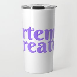 Artemis Creates Main Logo Travel Mug
