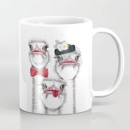 Ostrich family Coffee Mug