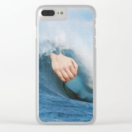 La Gran Ola Clear iPhone Case
