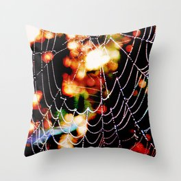 Spider Love Once And Again #02 Throw Pillow