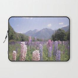 Fields of Flowers - Southland, New Zealand Laptop Sleeve