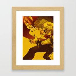 ROCK! Framed Art Print