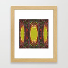 Potency of the Nectar (Secret Message) (Reflection) Framed Art Print