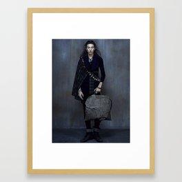 yamado亚麻度 Framed Art Print