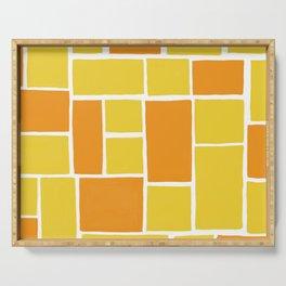 citrus patterns Serving Tray