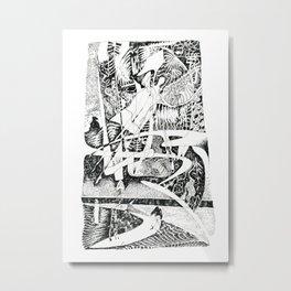Abstract Angel Of A Dreams Metal Print
