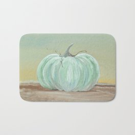 Ready for Fall Cinderella pumpkin Bath Mat