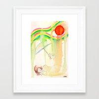 hero Framed Art Prints featuring Hero by Jane Chu