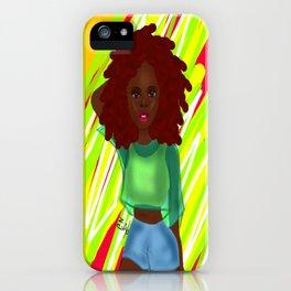 Gianna iPhone Case