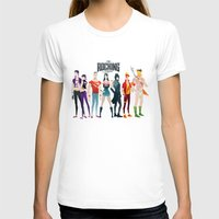 league T-shirts featuring the rocking league by Andres Moncayo