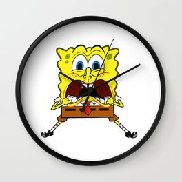 Spongebob Scream Wall Clock