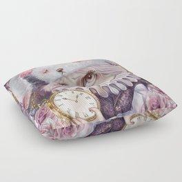White Rabbit Floor Pillow