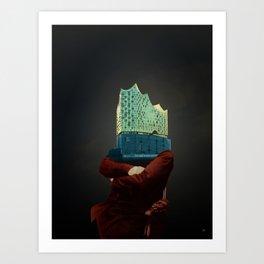 Elphus · Der neue Hamburger Art Print