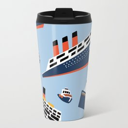 Ferryboat Scrub Caps Travel Mug