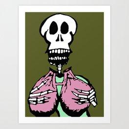 breathe in Art Print