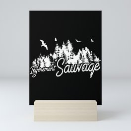 LEGEREMENT SAUVAGE SHIRT copy Mini Art Print