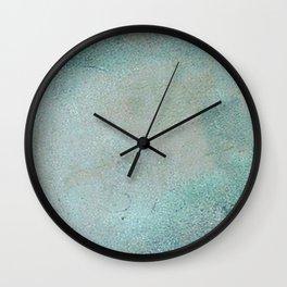 Patina Copper rustic decor Wall Clock