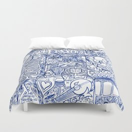 Portugal collage Duvet Cover