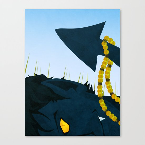 Wagner's Tail Canvas Print