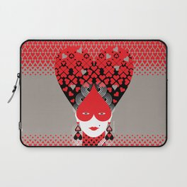 The queen of hearts Laptop Sleeve