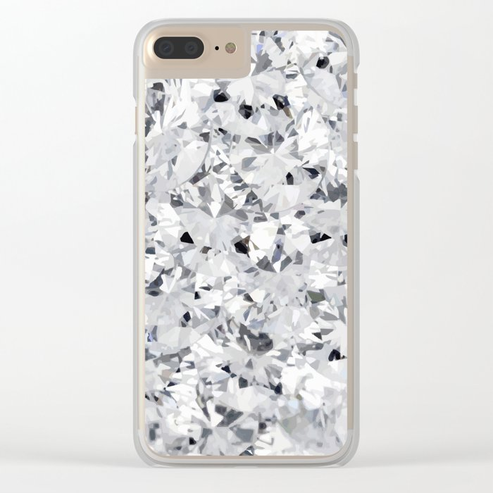 like diamonds in the sky Clear iPhone Case