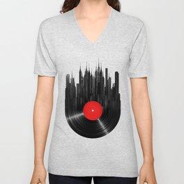 Urban Vinyl Unisex V-Neck