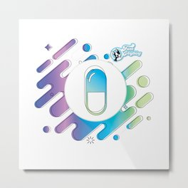 A Pill for Everything Metal Print