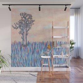 girl leaf Wall Mural