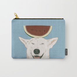 Watermelon doggy smile Carry-All Pouch