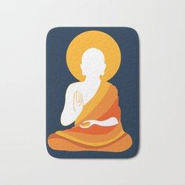 Lord Buddha Illustration Bath Mat
