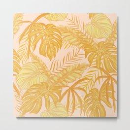 Rose Gold Metal Print