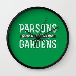 Parsons Gardens Wall Clock