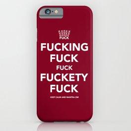 Fucking Fuck Fuck Fuckety Fuck- Cherry iPhone Case