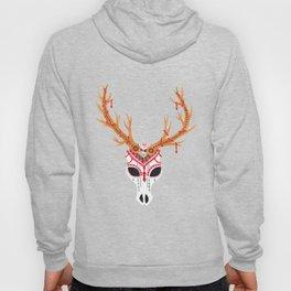 The Deer Head Skull   Hoody