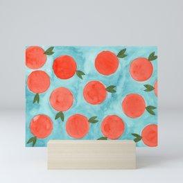A Mess of Oranges Mini Art Print