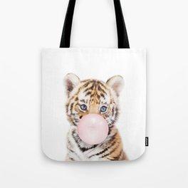 Bubble Gum Tiger Cub Tote Bag