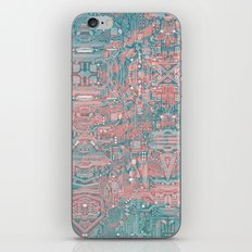 Circuitry Details 2 iPhone & iPod Skin