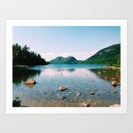 Jordan Pond - Acadia National Park Art Print