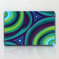 malachite iPad Cases featuring Malachite by Alex Morgan