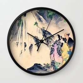 Mizuno Toshikata - Top Quality Art - AKINOMIYAJIMA Wall Clock