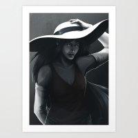 marceline Art Prints featuring Marceline by Julia