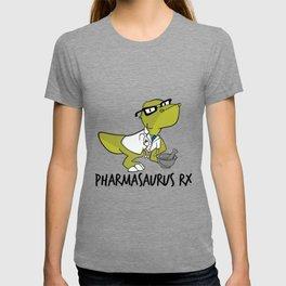 Pharmasaurux Rx - Pharmacy Dinosaur T-shirt