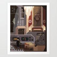 Scene #16: 'Imperial News' Art Print