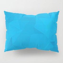 Geometric Blue Pillow Sham
