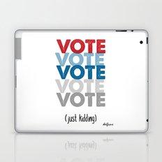 VOTE NOW TRUMP CLINTON 2016 Laptop & iPad Skin