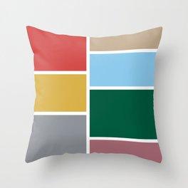 moda v.2 Throw Pillow