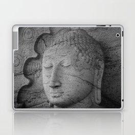 Seated Buddha statue in dhyana mudra pose at Gal Viharaya Laptop & iPad Skin