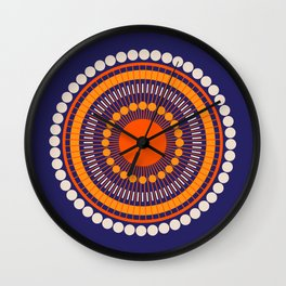 Bloom Mandala Wall Clock