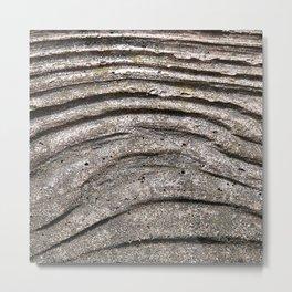 Concrete Wood Metal Print