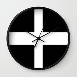 Flag of Cornwall Wall Clock